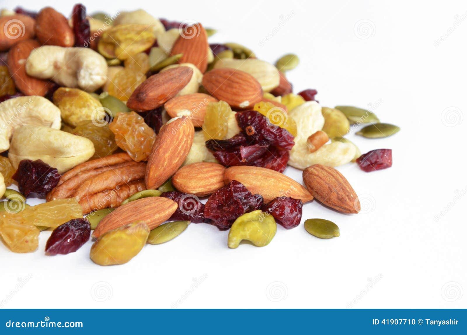 Passas e sementes