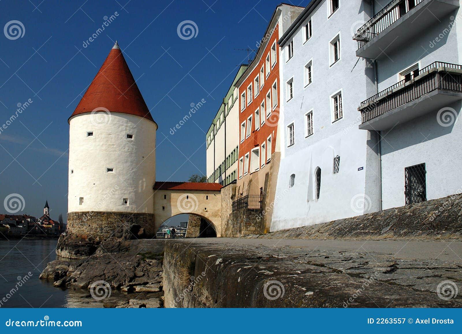Passau Promenade Bavaria