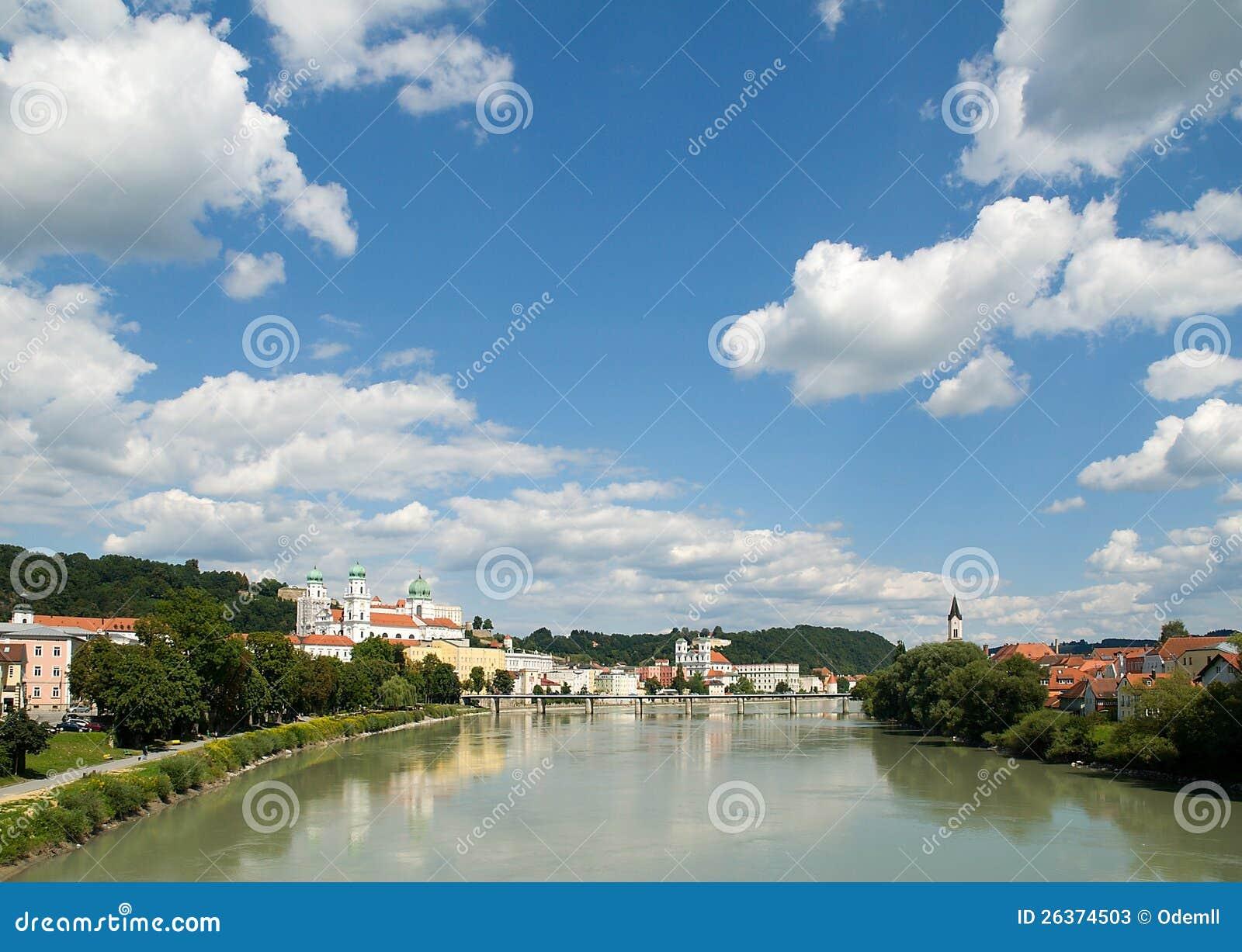 Passau,  promenade  del mesón