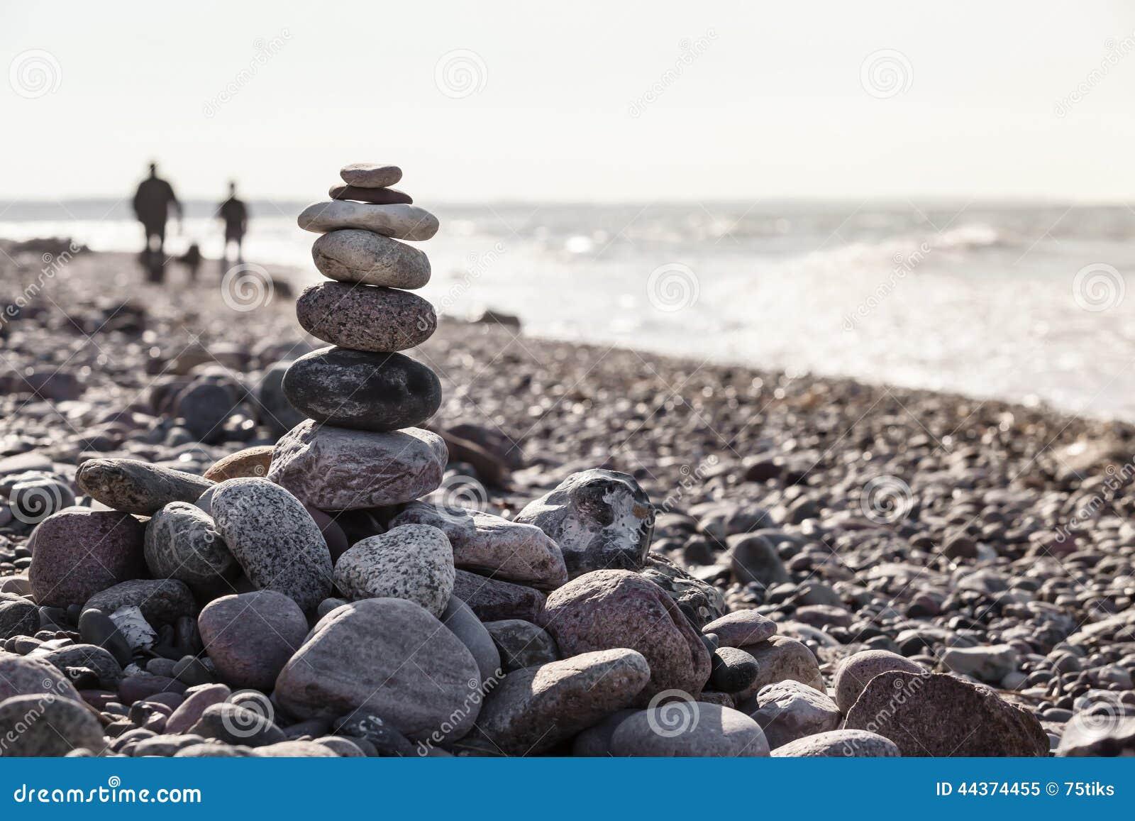 Passeggiata spirituale della spiaggia