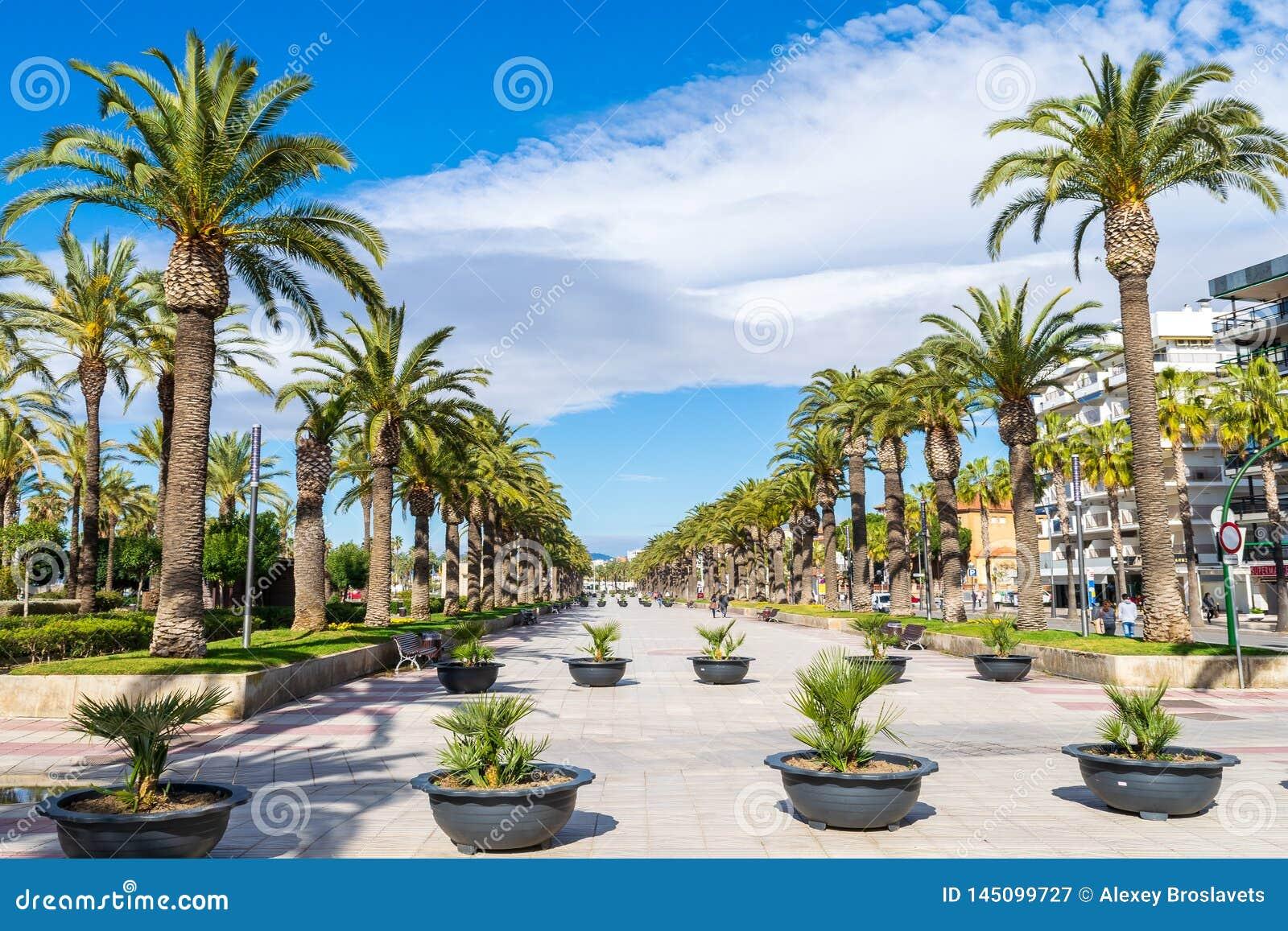 Passeig Jaume i в Salou