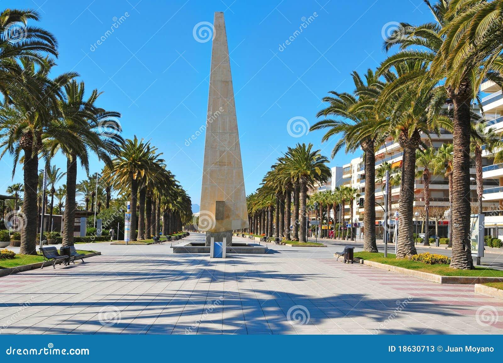 Passeig salou Испания i jaume