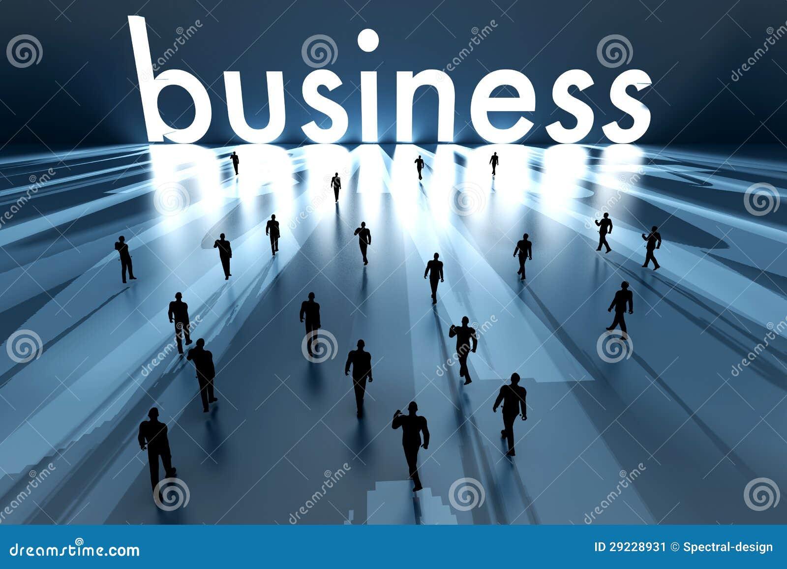 Download Passeio para o negócio ilustração stock. Ilustração de marketing - 29228931