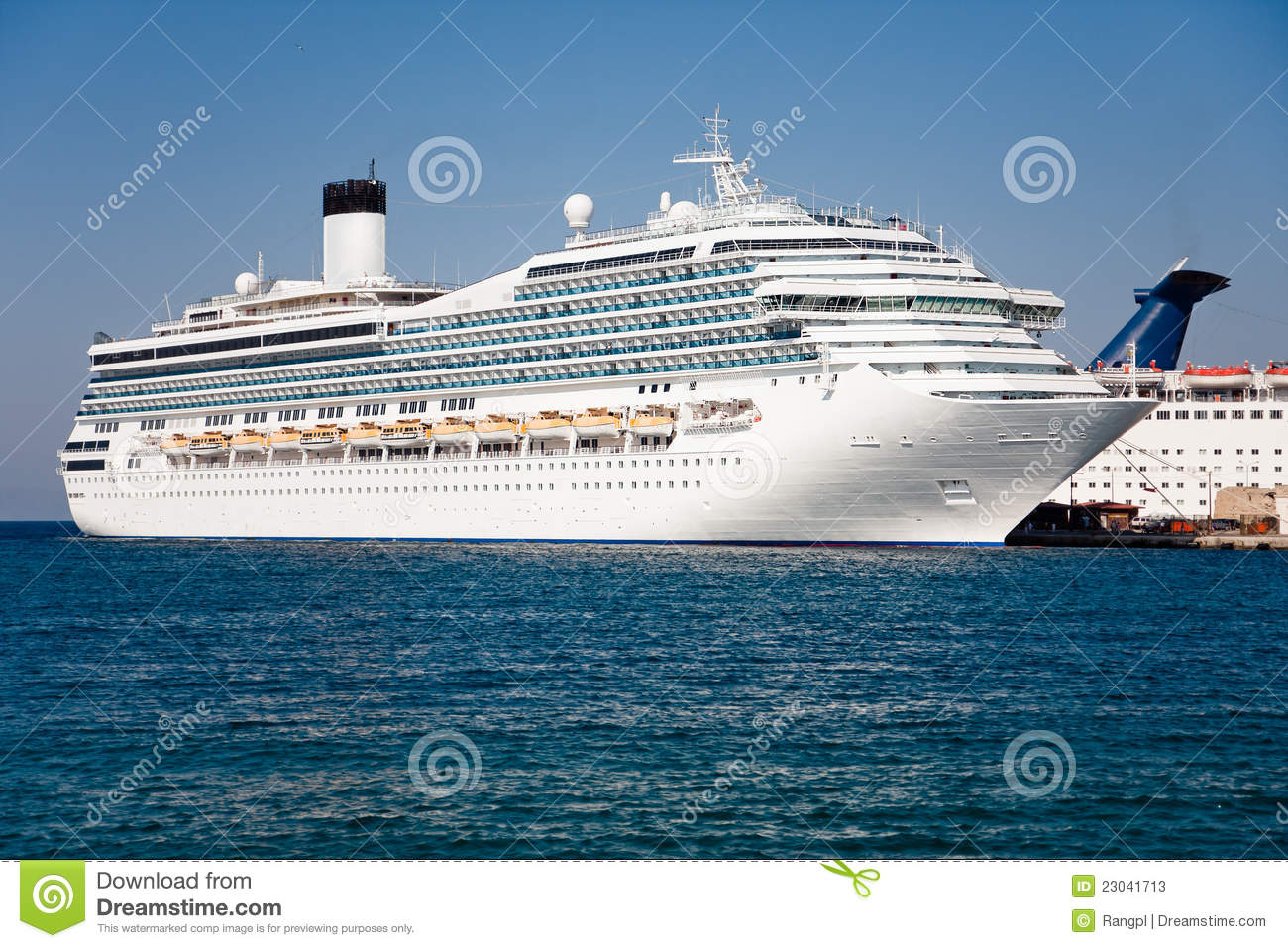 Passenger Cruise Ship Stock Photos  Image 23041713