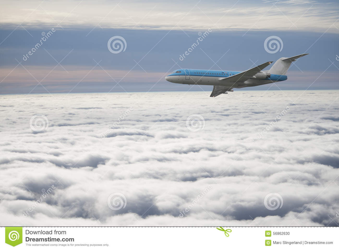 Download Passenger plane stock photo. Image of royal, clouds, speed - 56862630