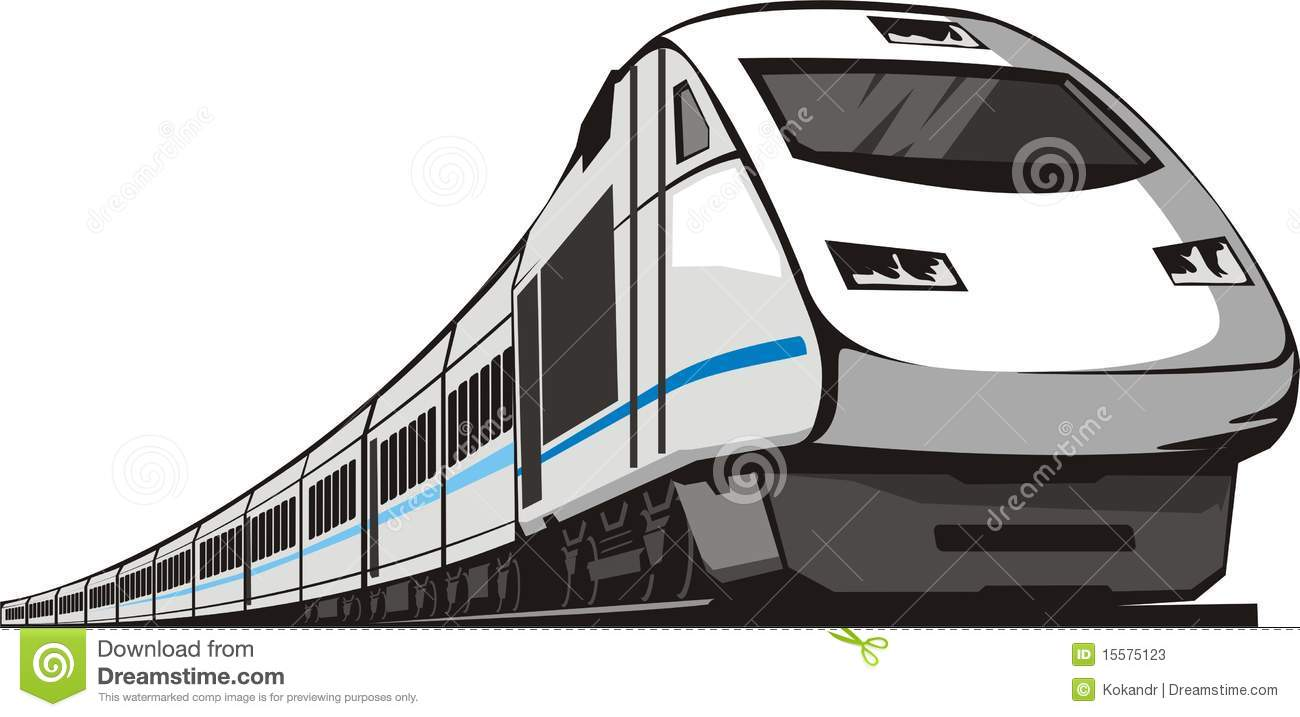 electric train clipart black and white - photo #48