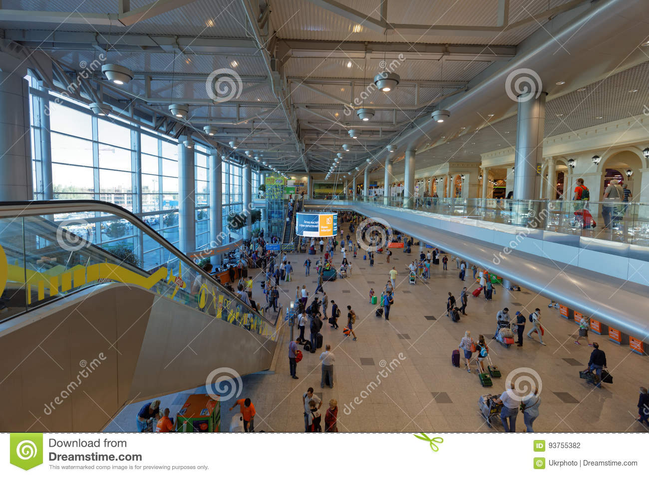 Domodedovo Airport, take pity on people, please 77