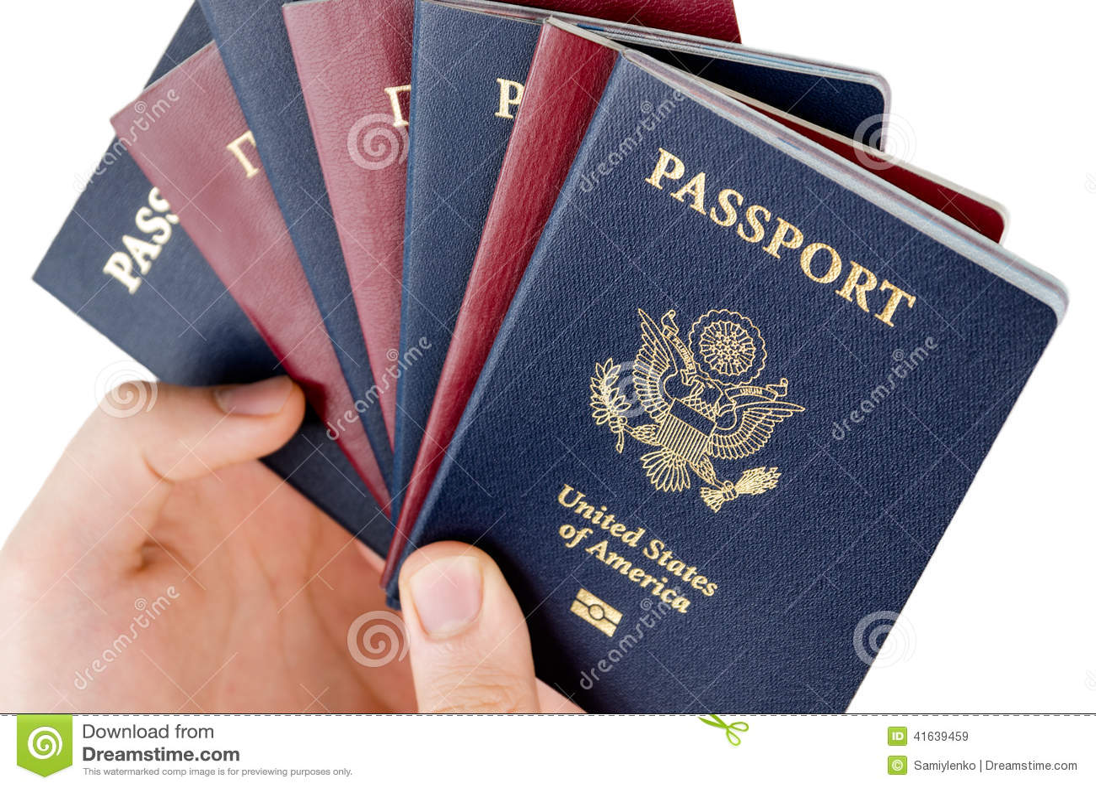 7 passeports