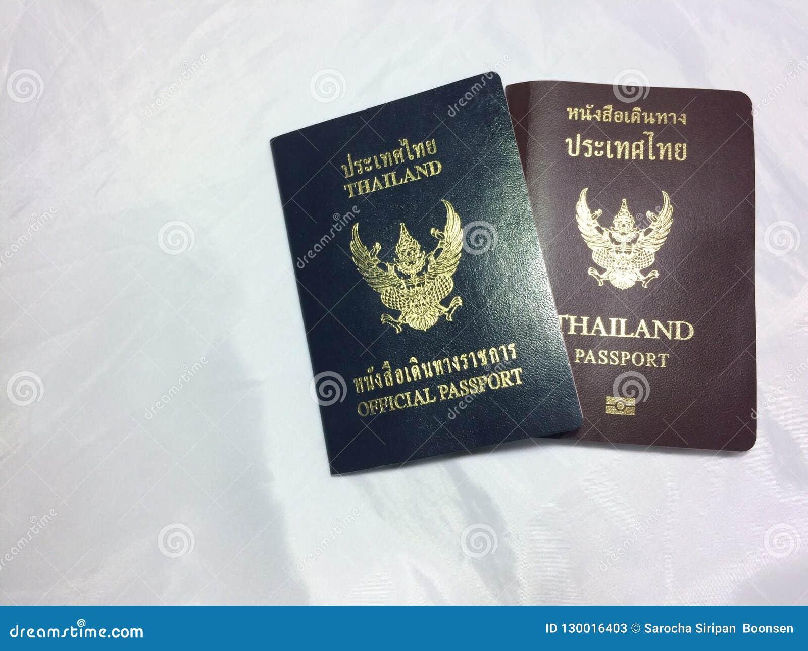 Passeports thaïlandais