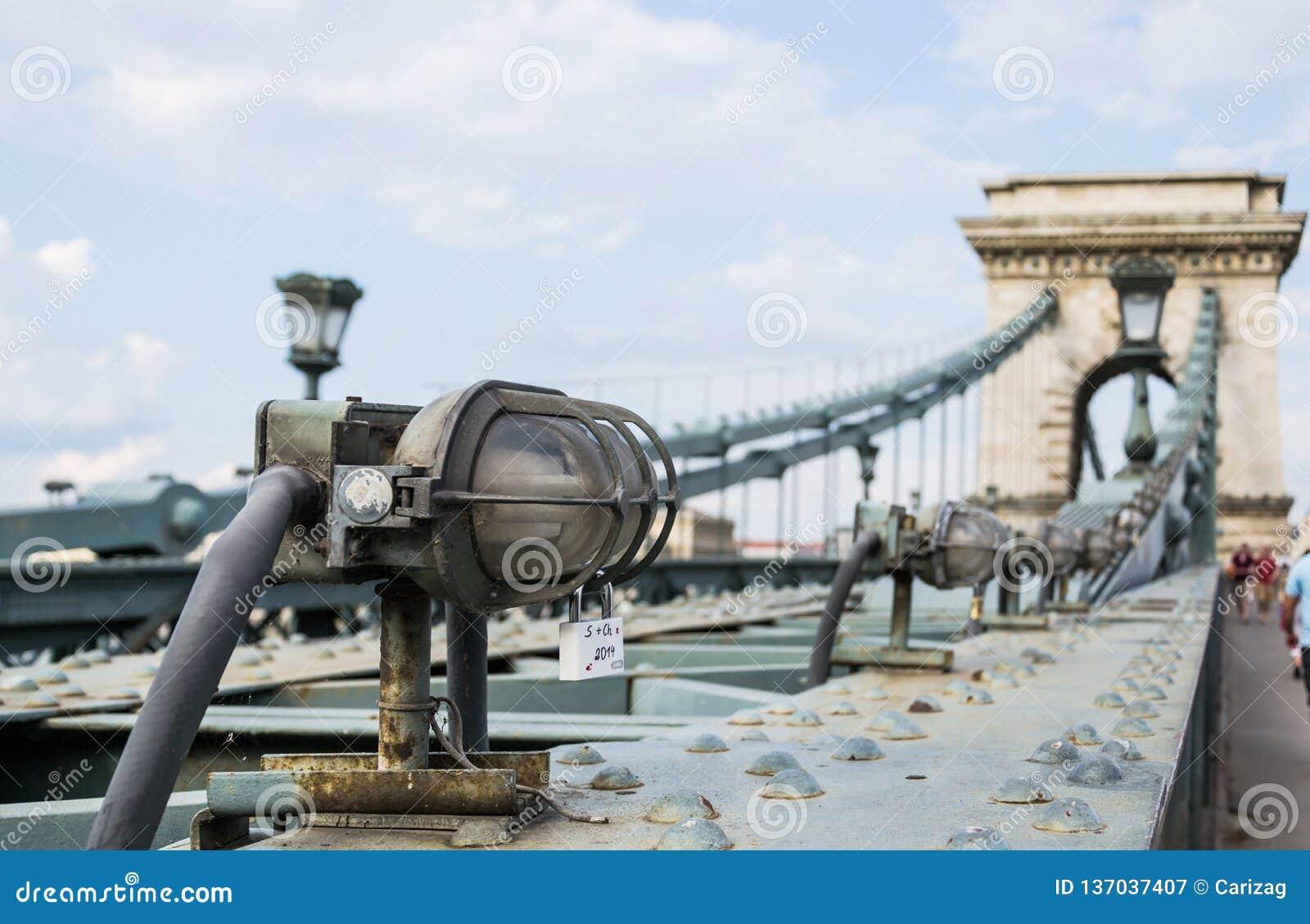 Passerelle à chaînes, Budapest