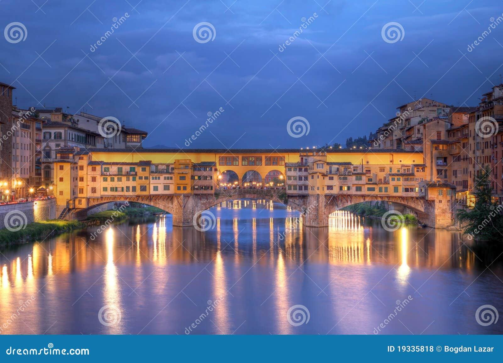 Passerelle à Florence, Italie