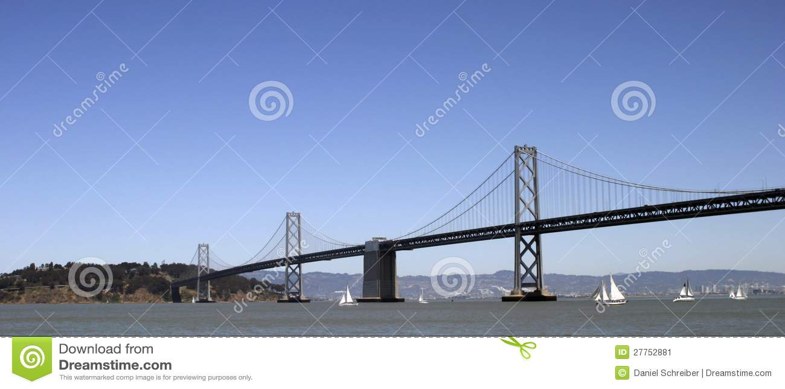 Passerelle de baie connectant Oakland et San Francisco