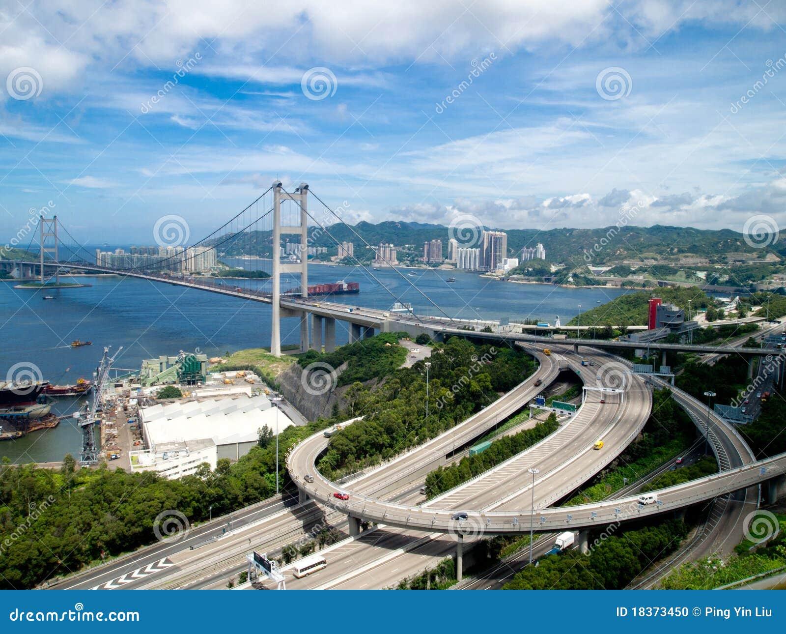 Passerelle de Hong Kong Tsing mA