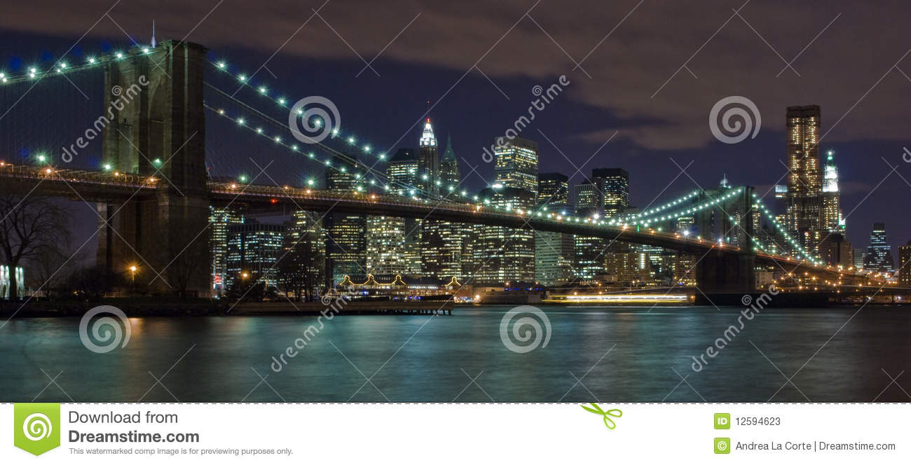 PASSERELLE DE NEW YORK CITY BROOKLYN
