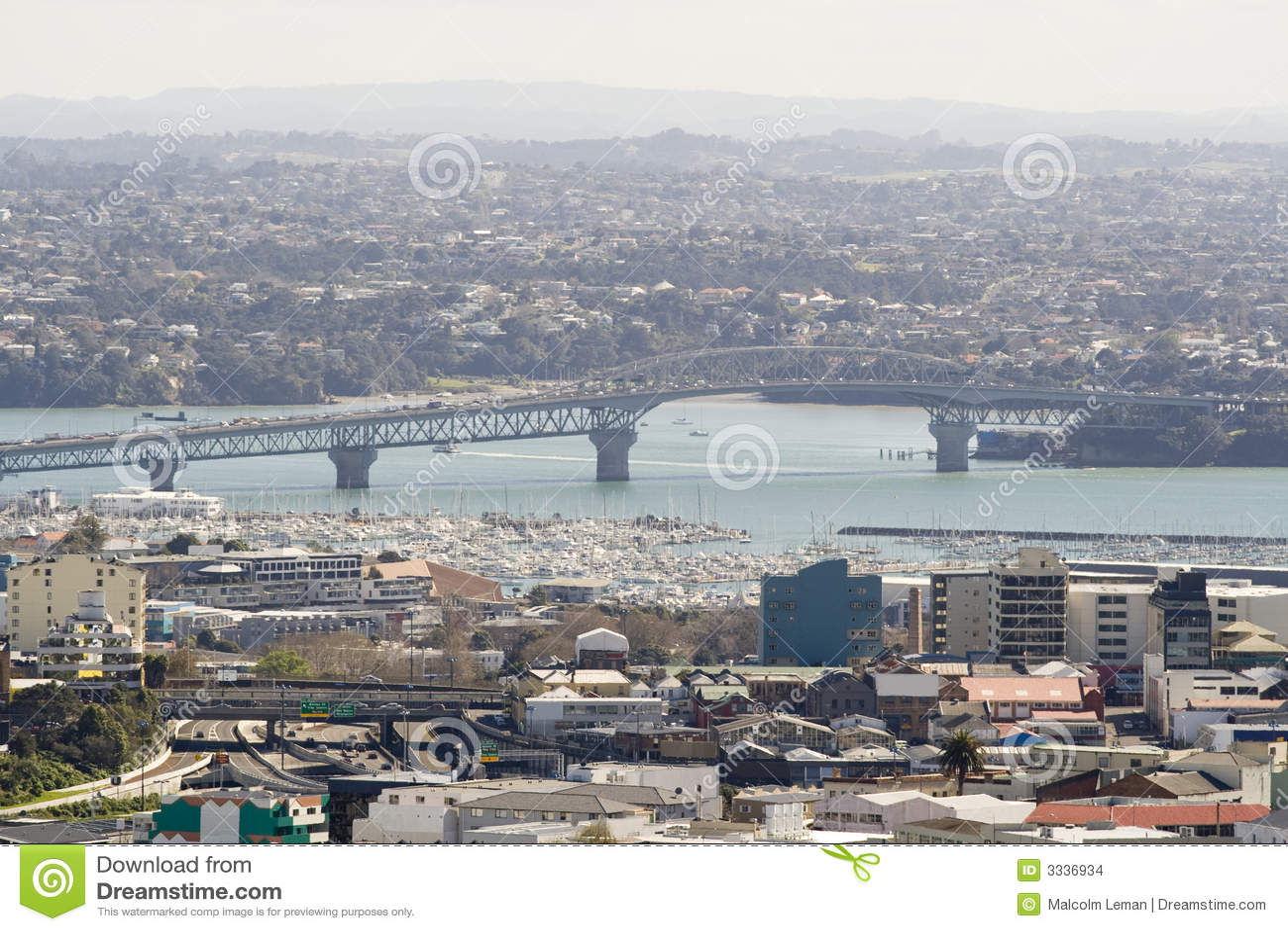 Passerelle de port d Auckland