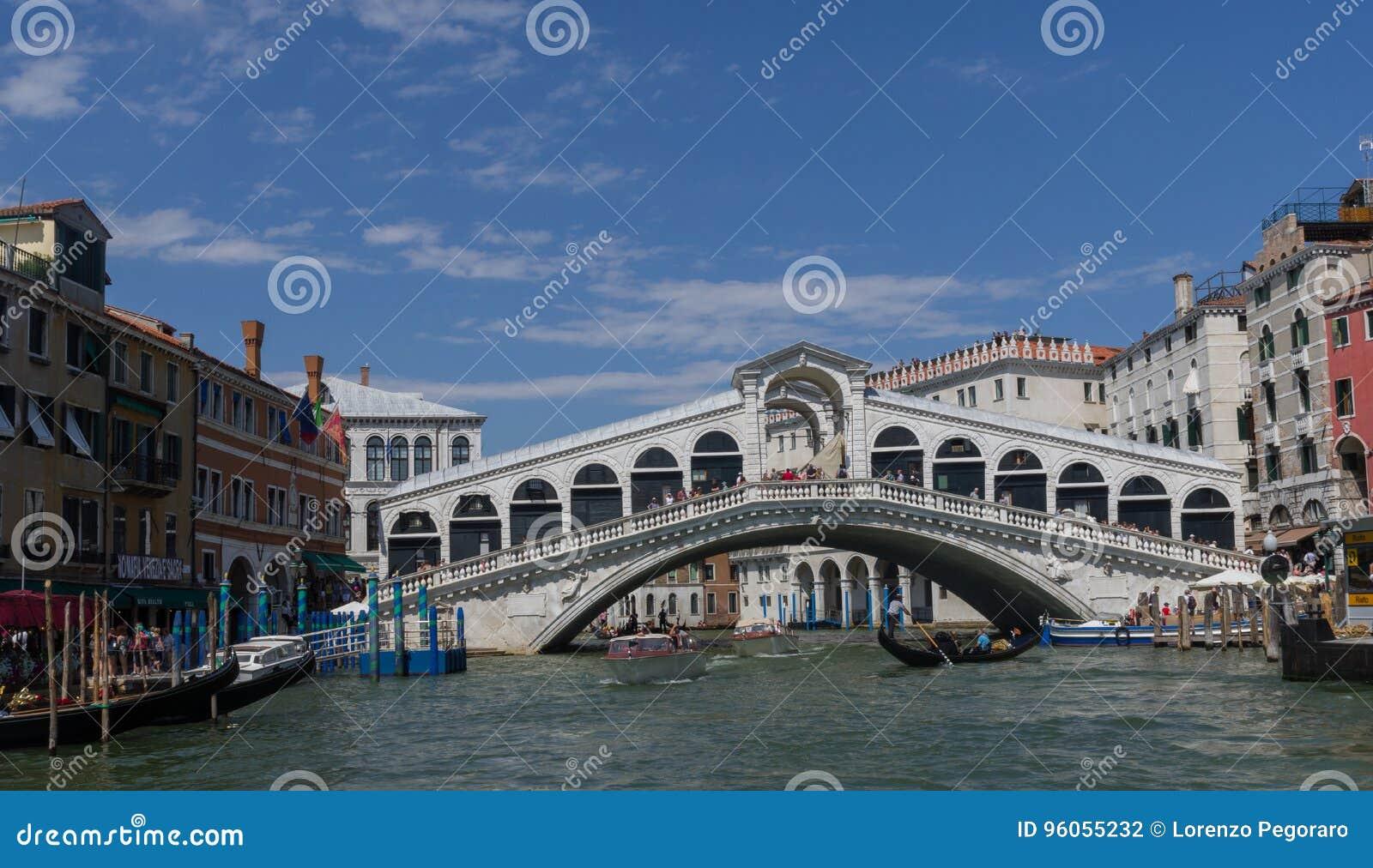 Passerelle de Rialto à Venise