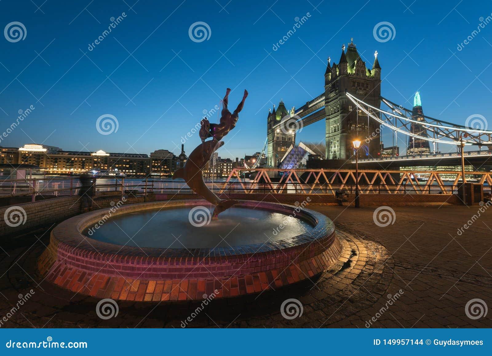 Passerelle de tour - Londres