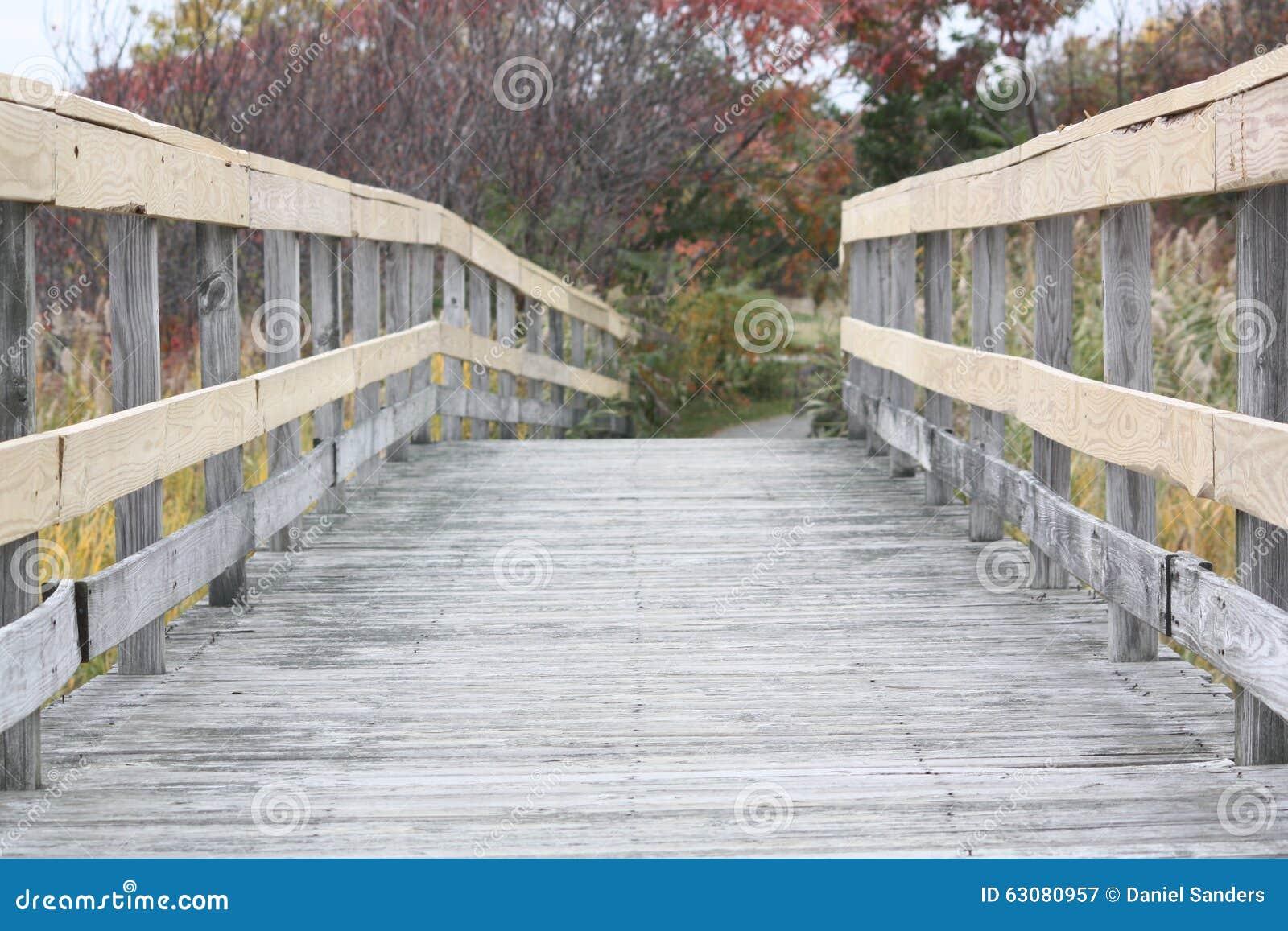 Download Passerelle en bois image stock. Image du home, passerelle - 63080957