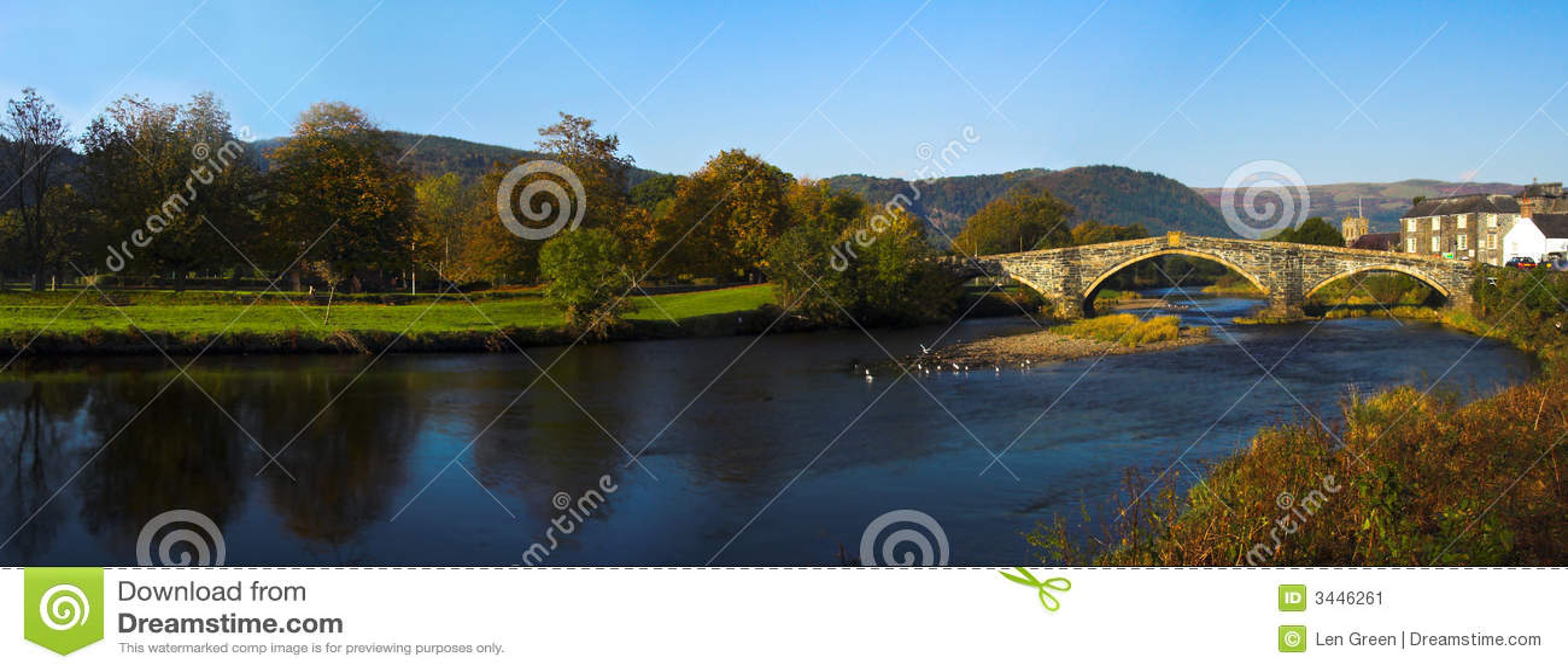 Passerelle Pays de Galles de Llanrwst
