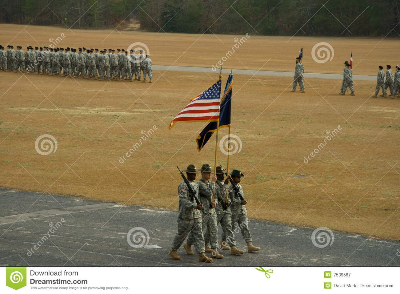 Passing Of The Colors Editorial Photography Image 7539567