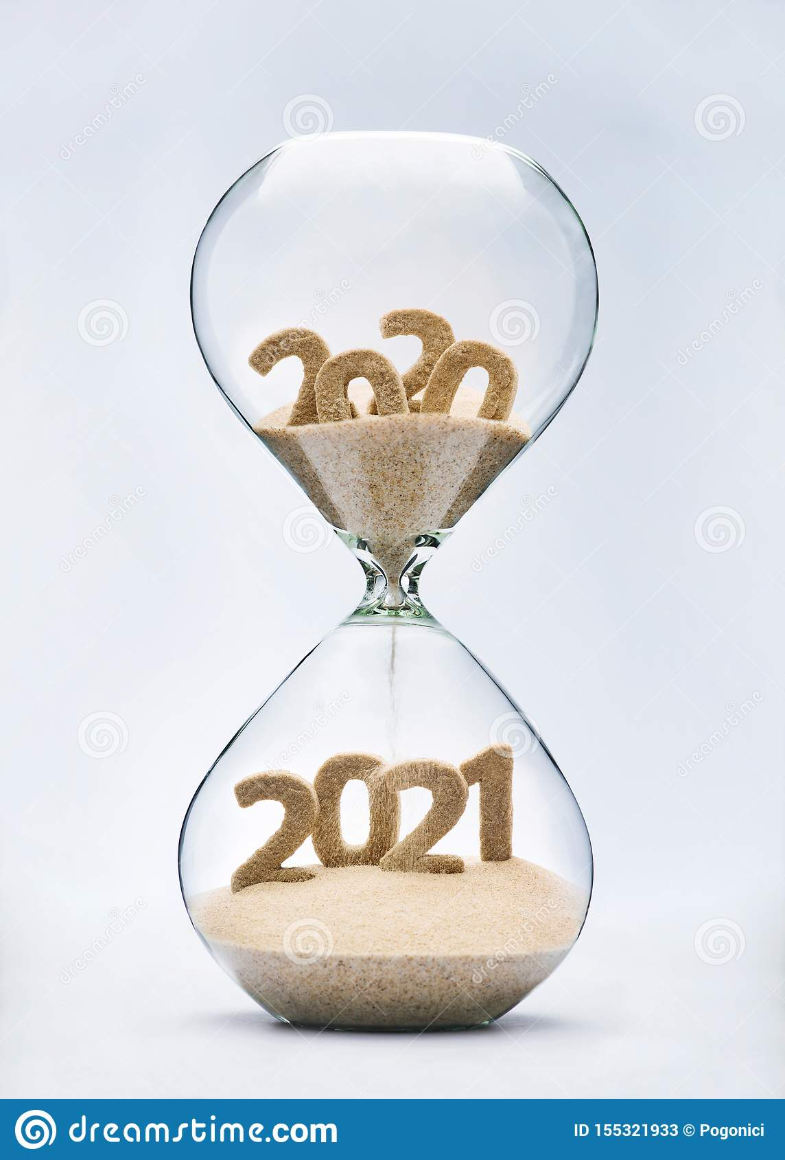 Passing into New Year 2021 stock image. Image of days ...