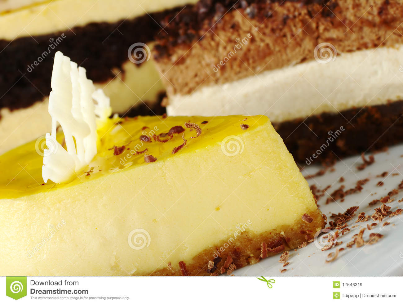 Cake With Fruit Layers : Passion Fruit Cake Royalty Free Stock Images - Image: 17546319