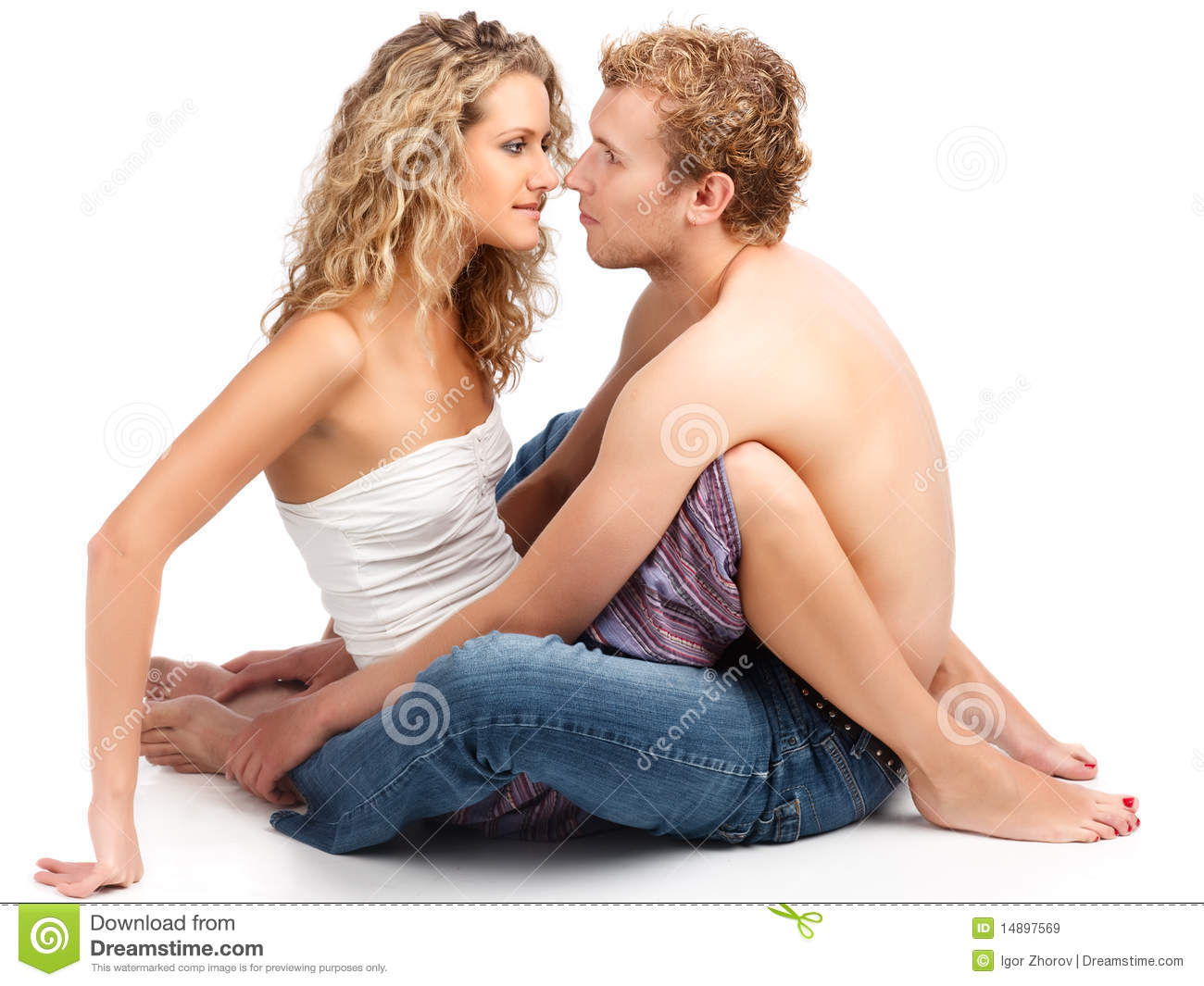 detail photo happy casual adult couple royalty free image