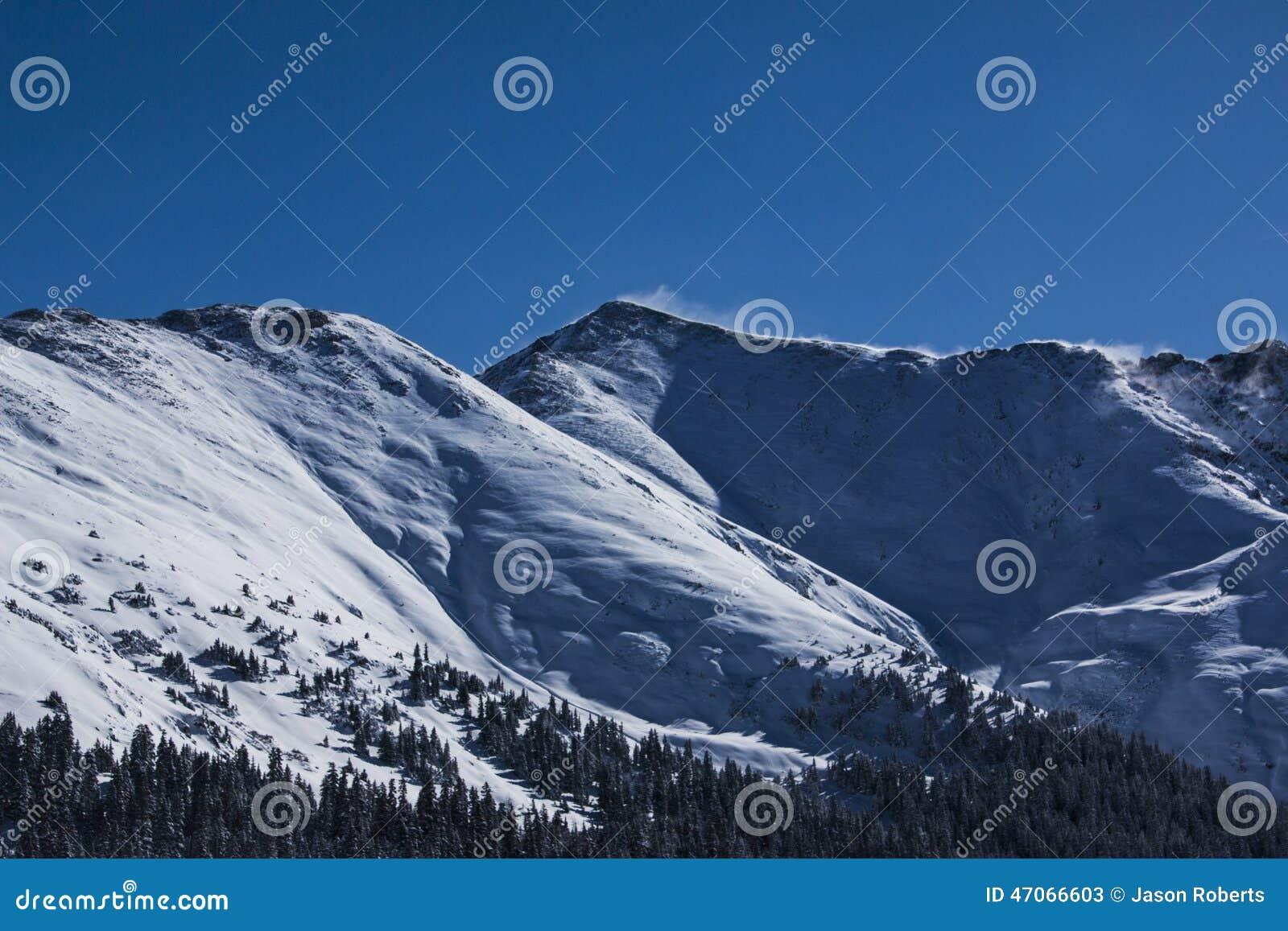 Passo di montagna in Colorado