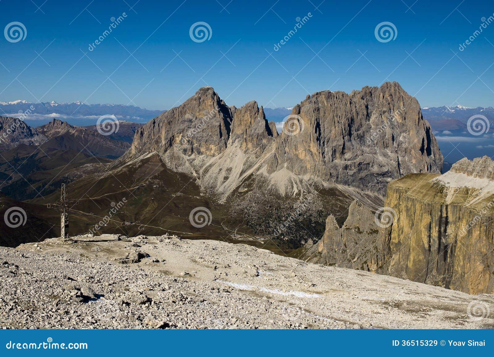 Passo Sella, dolomites Italie
