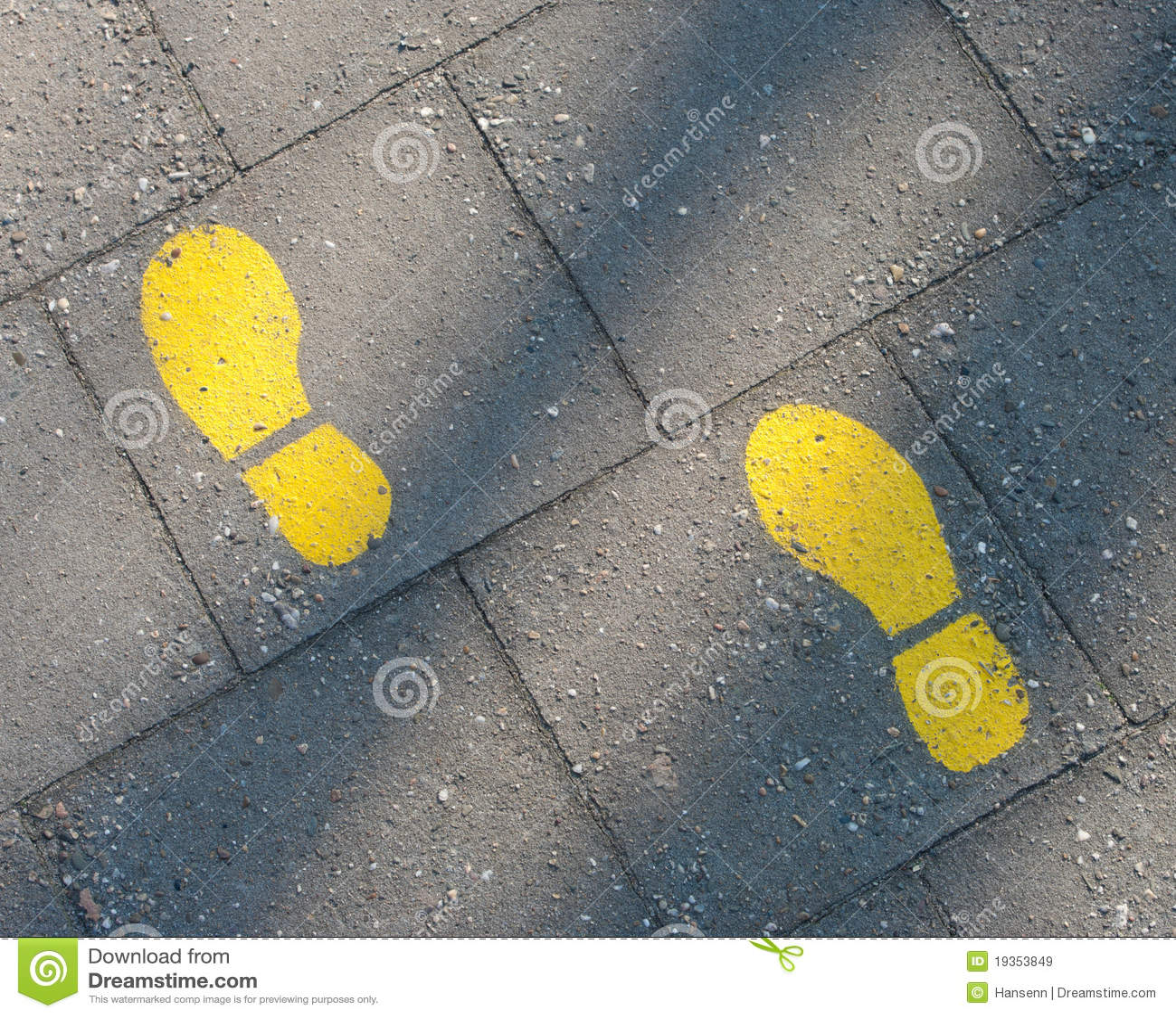 Passos amarelos
