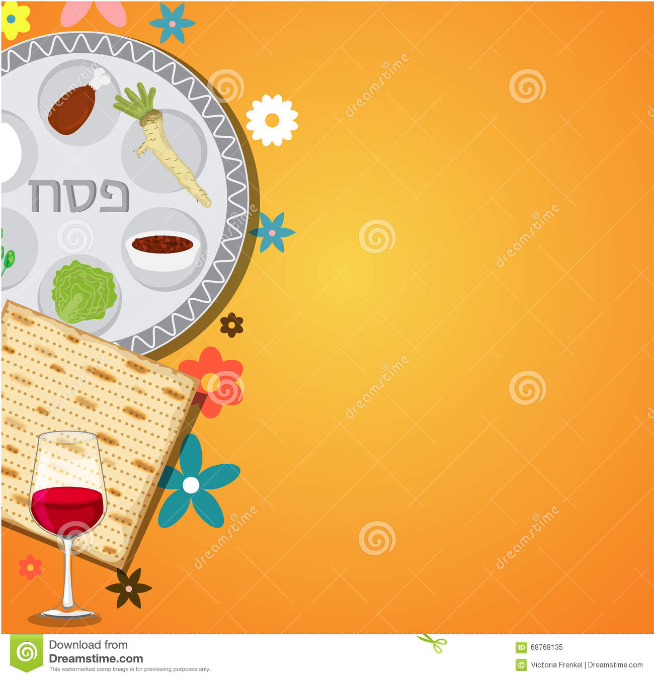 Passover dinner seder pesach background with passover plate and passover dinner seder pesach background with passover plate and traditional food buycottarizona
