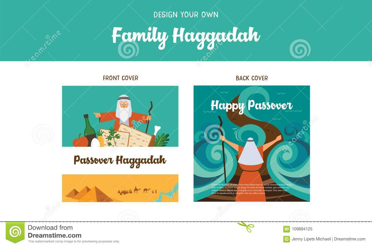 Passover haggadah design template haggadah book covers the story download passover haggadah design template haggadah book covers the story of jews exodus from maxwellsz
