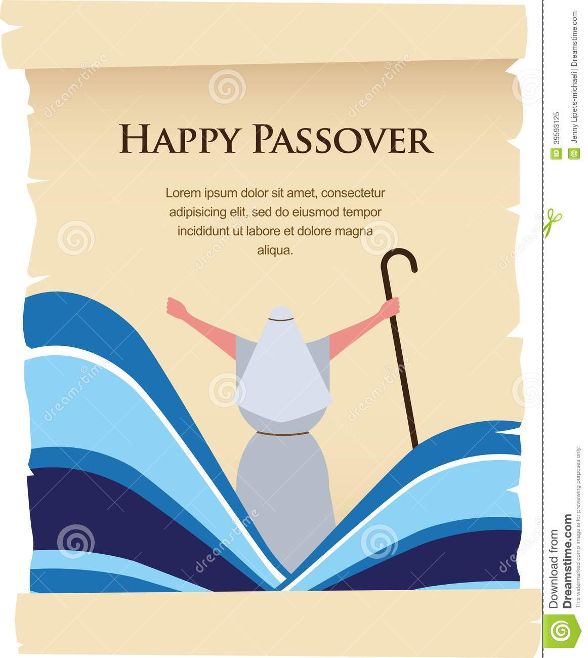 Free Old Time Passover Cards 49