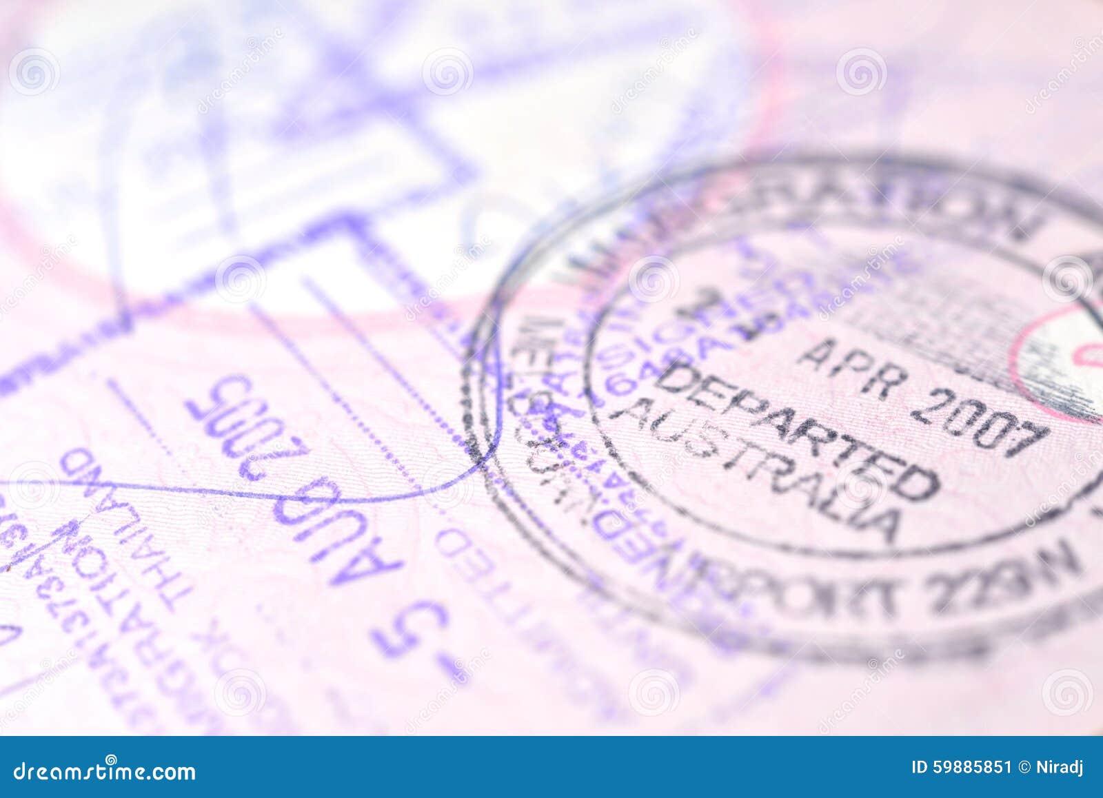 Passport expiration date in Melbourne