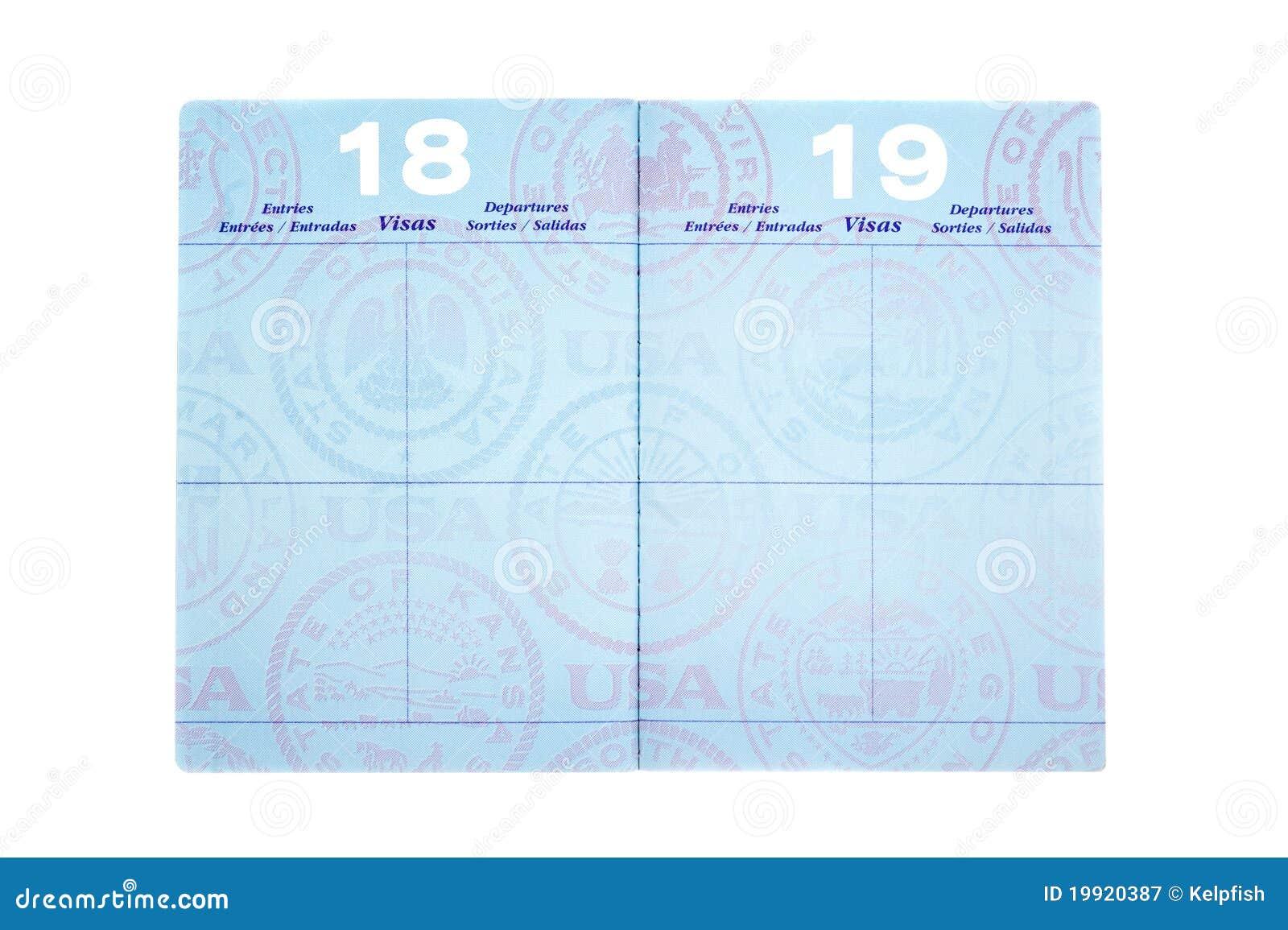 Travel Info Center: Indian Passport - Blank Passport Pages