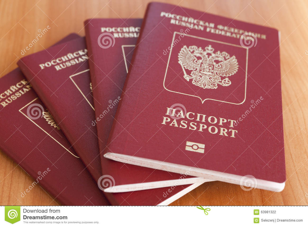 Passports on a table stock photo. Image of object, card ...