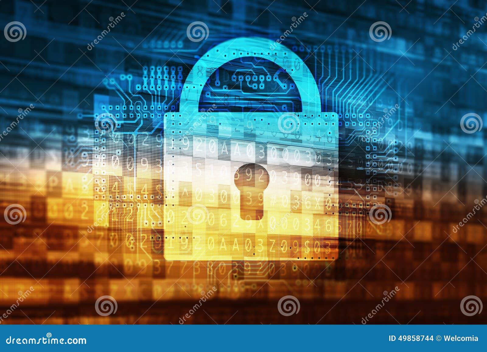 Password Data Safety Stock Illustration Image 49858744