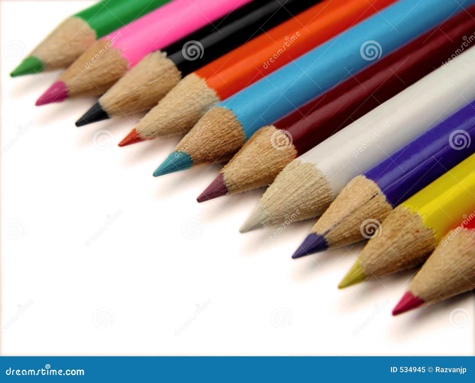 Pastéis coloridos