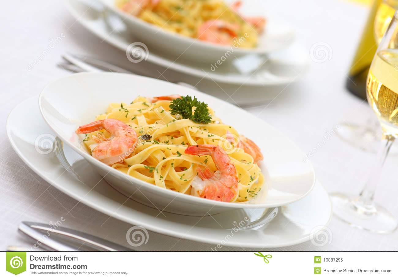 Pasta Alfredo With Grilled Shrimps Royalty-Free Stock ... Grate Cheese Clipart