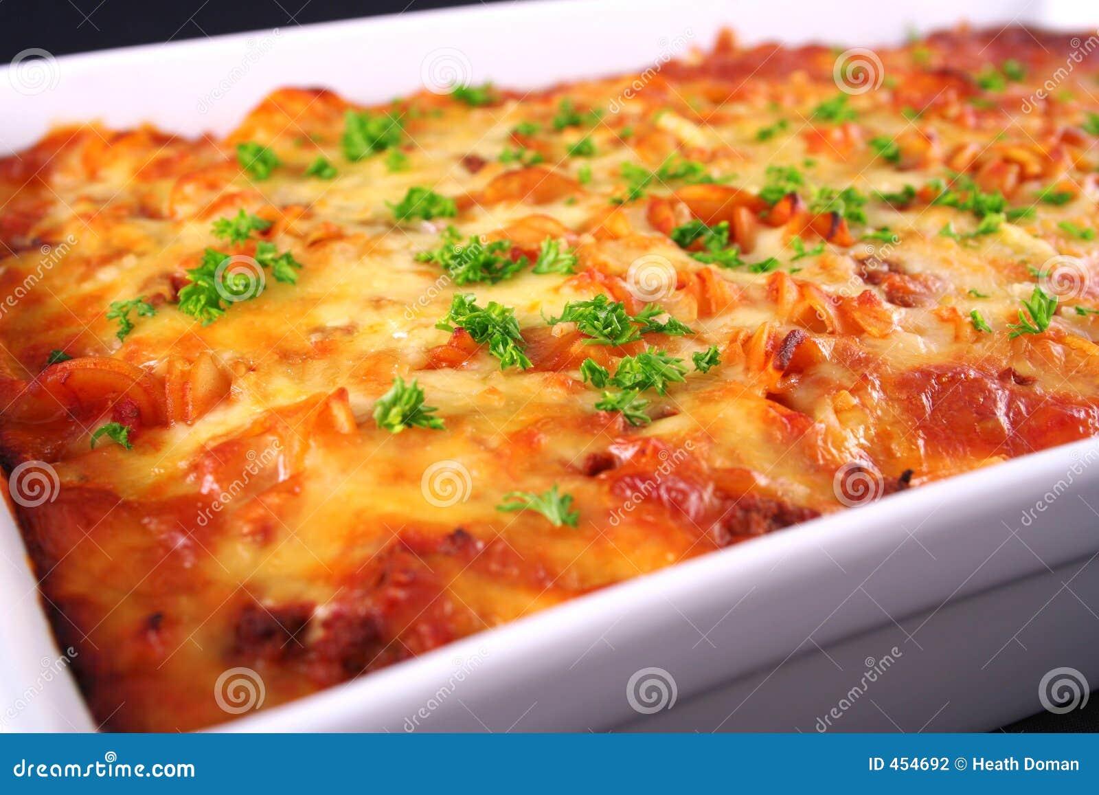 Download Pasta bake stock photo. Image of bowl, onion, italian, food - 454692