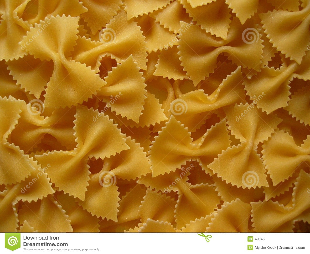 Download Pasta bows stock image. Image of food, health, bows, cook - 48345