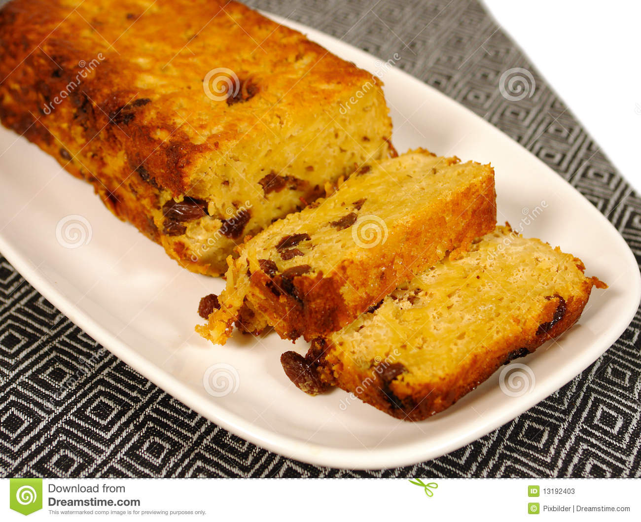Pasta cake with raisins called kugel in middle eastern cuisine.