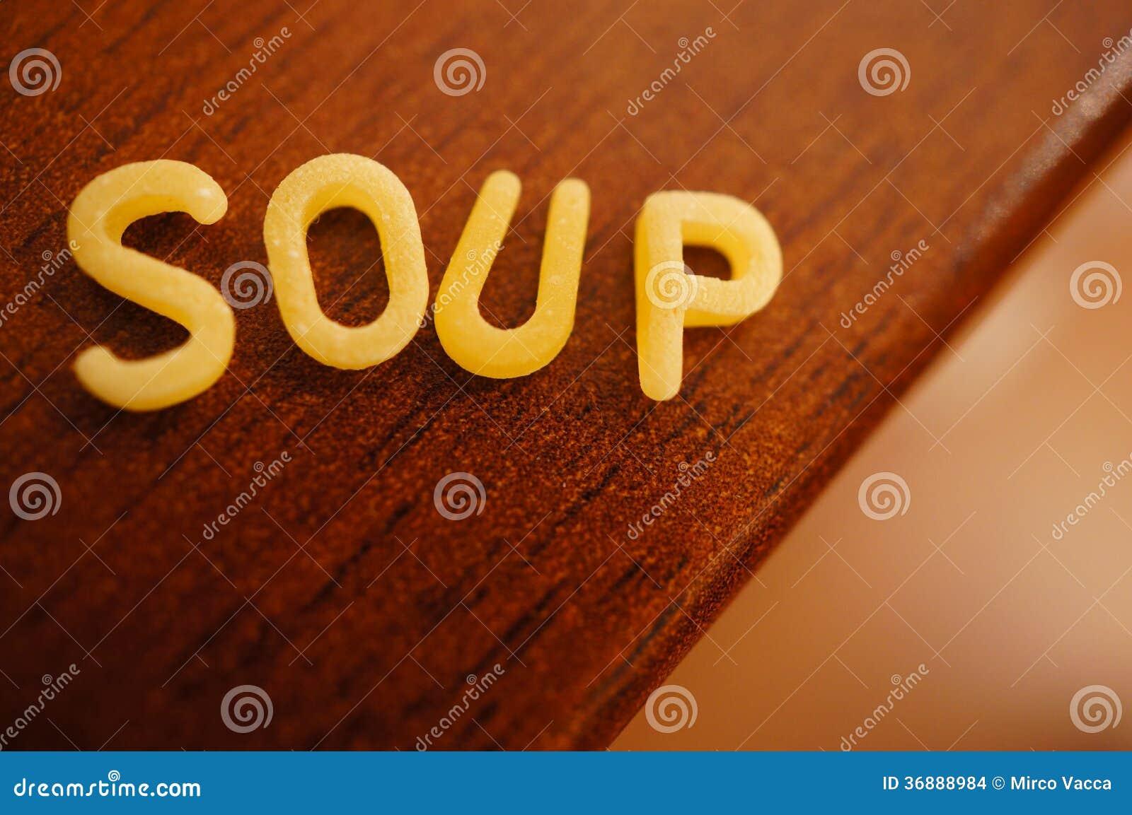 Download Pasta della minestra fotografia stock. Immagine di salute - 36888984