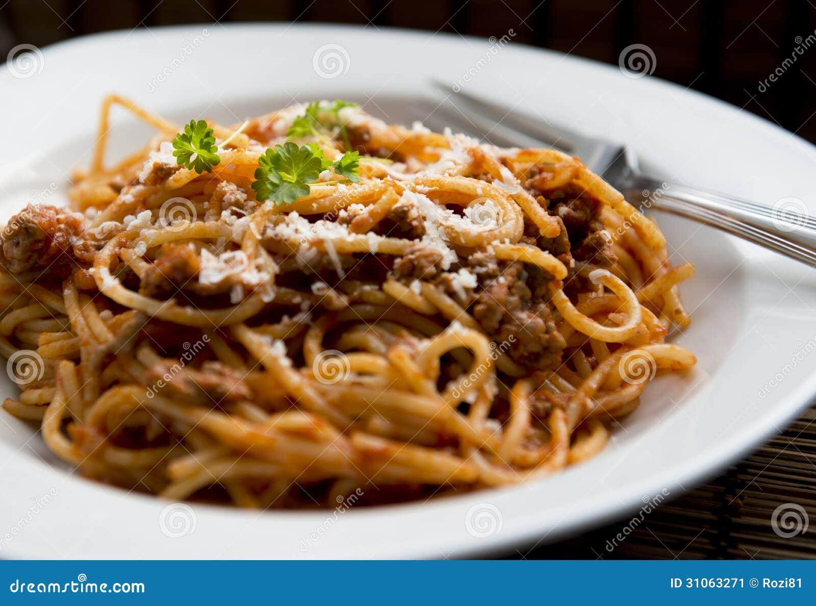 Pasta Dish Stock Image - Image: 31063271