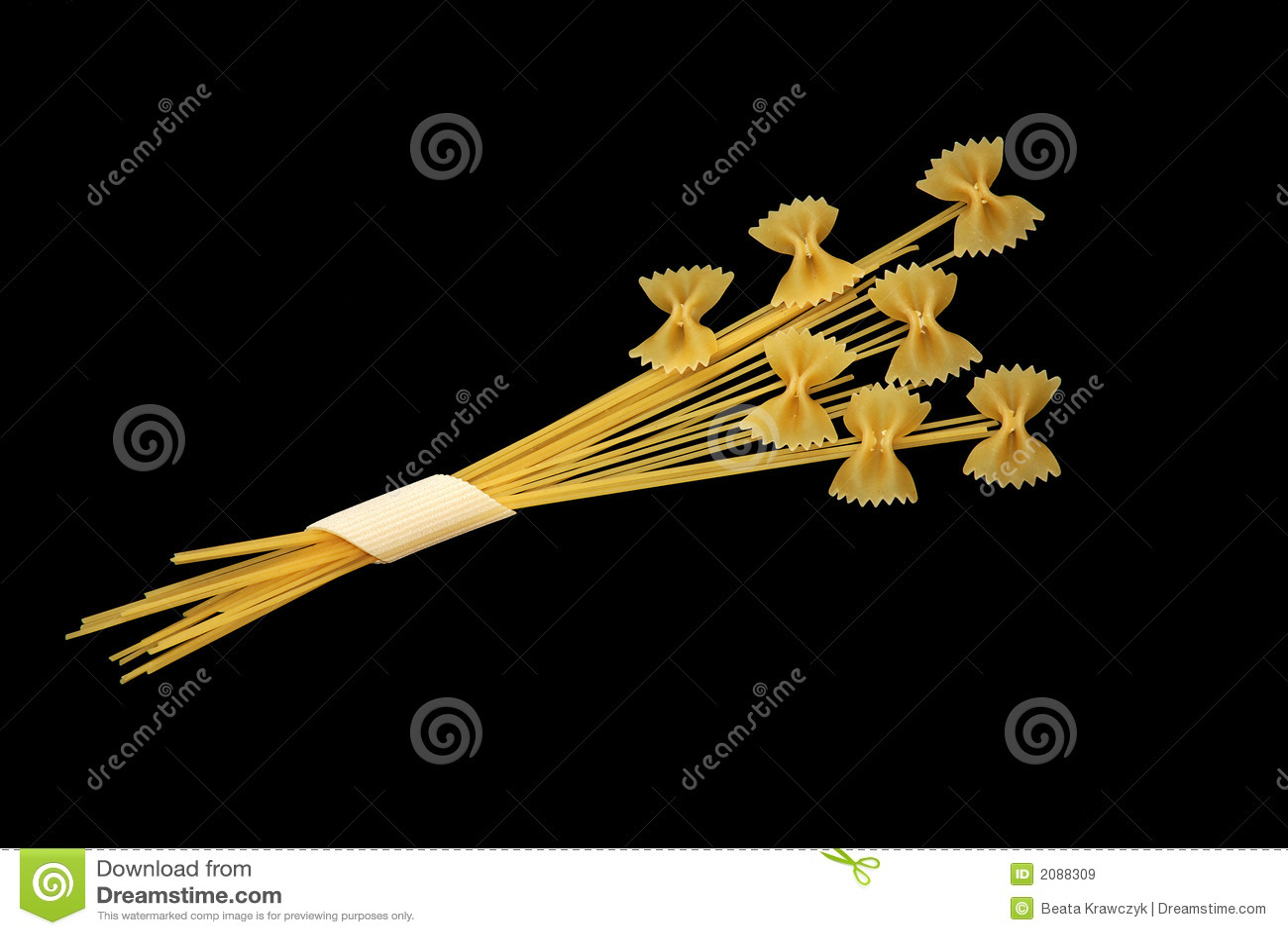 Pasta flowers