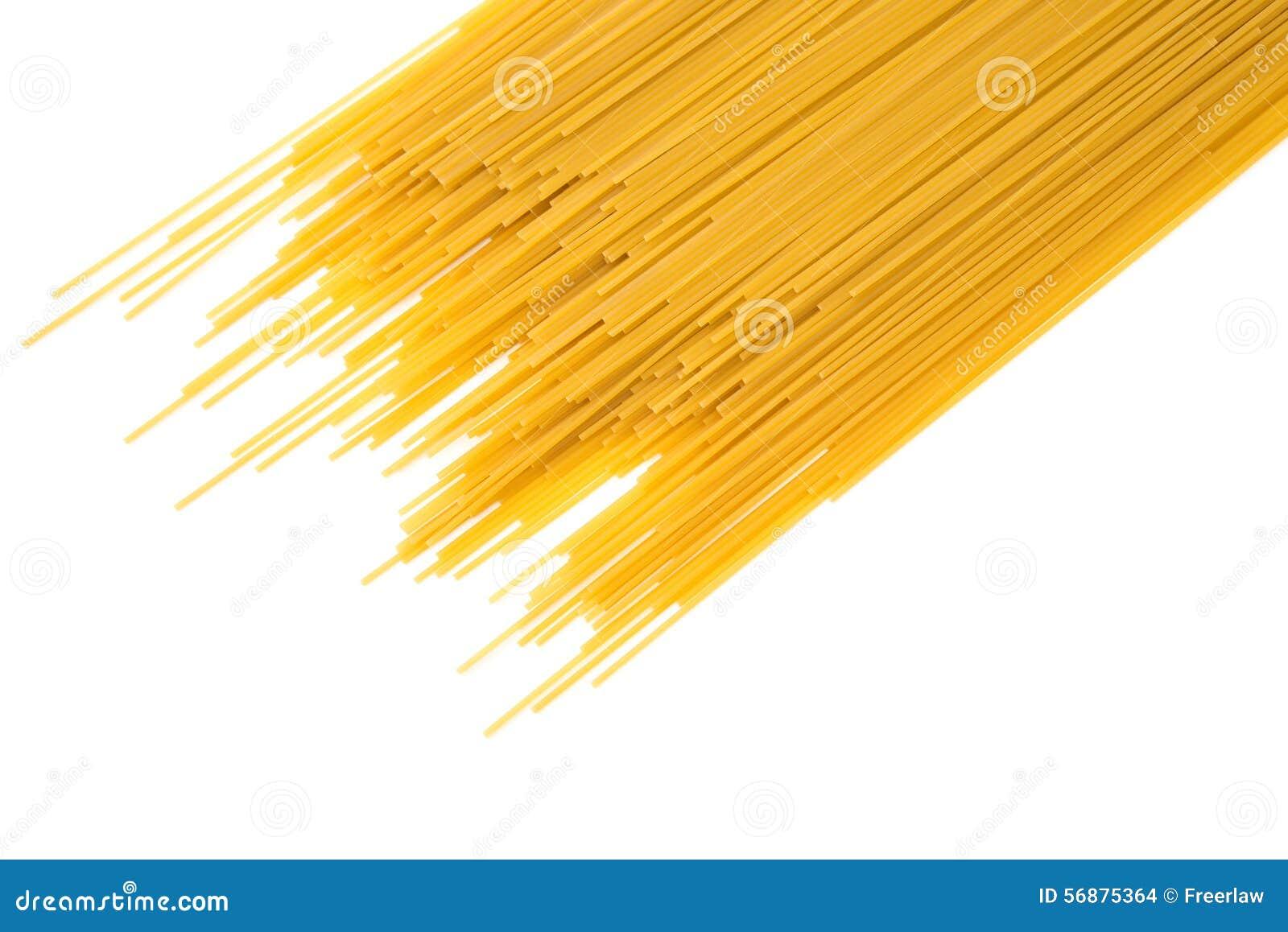 Pasta italiana grezza