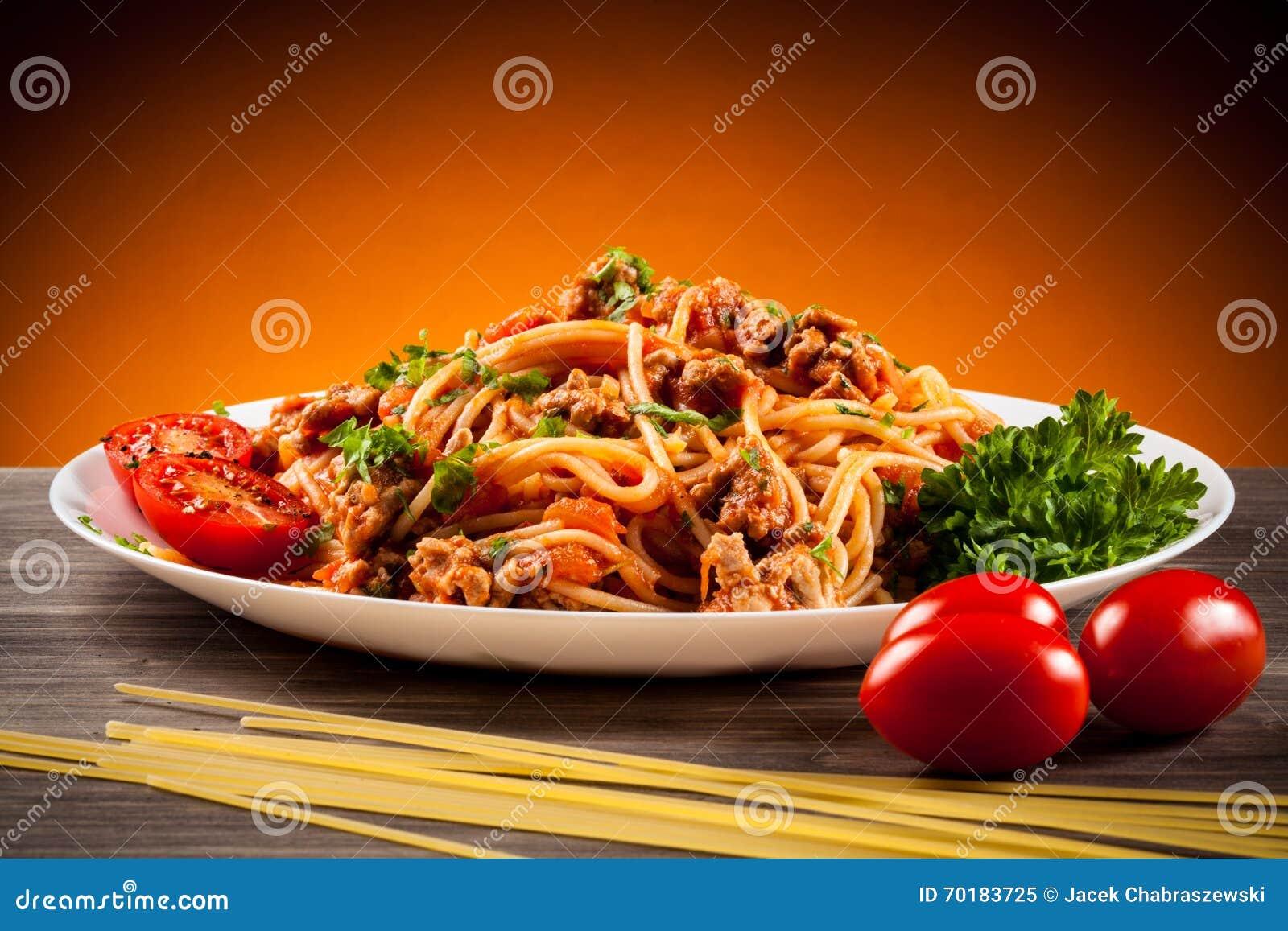 Pasta med grönsaker