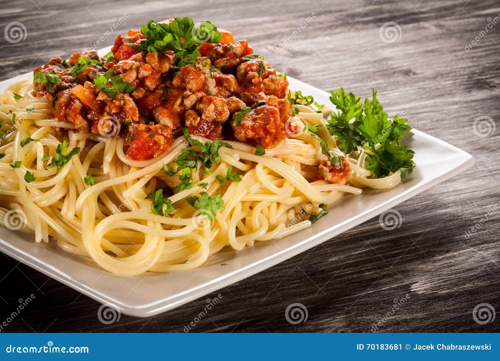 Pasta med meat