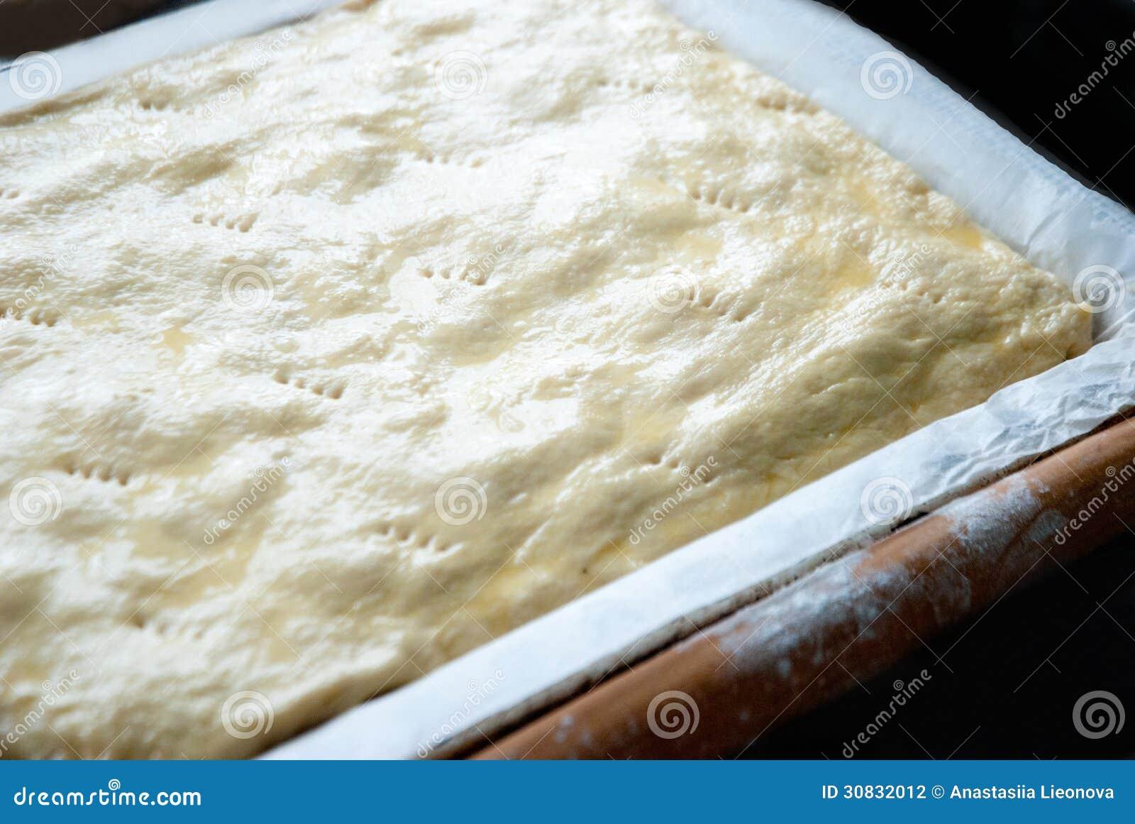 Pasta per torte cruda