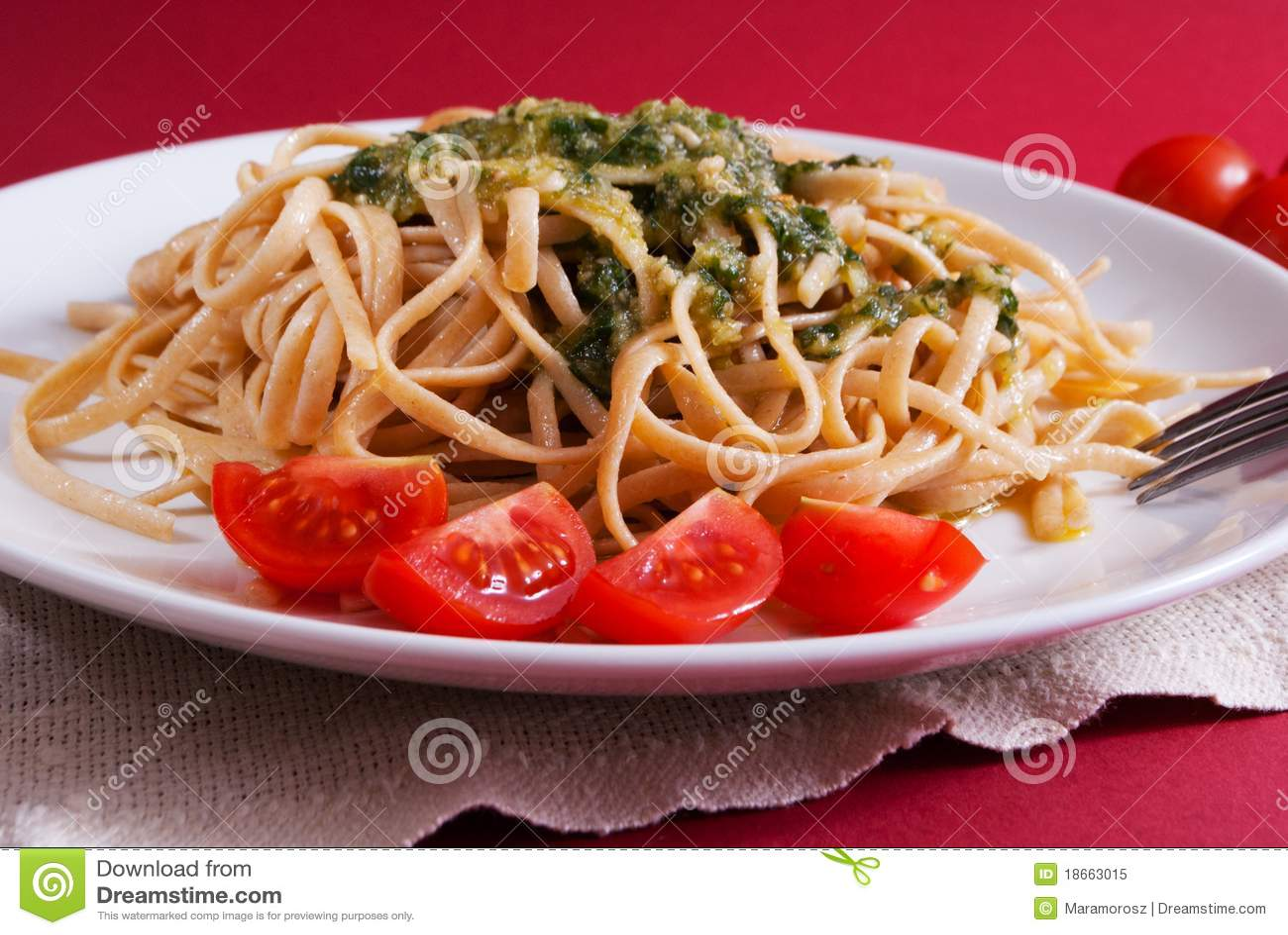 how to cook pesto sauce pasta